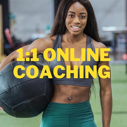 1:1 Online Coaching