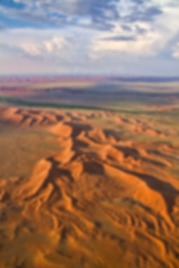 Aerial view of the Namib Desert near Tsondabvlei: landscape074