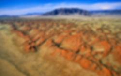 Namibrand dunes - aerial: landscape056