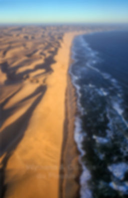 The Big Wall - The Namib Desert along the Atlantic Ocean - aerial view: landscape070