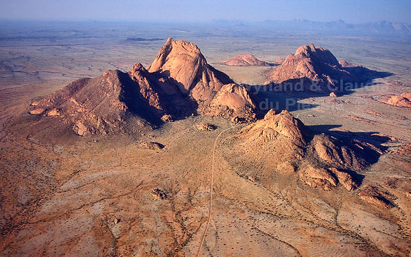 Spitzkoppe from the air: landscape020
