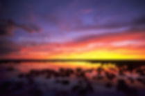 Rainy season sunset in Etosha, Namibia: landscape026