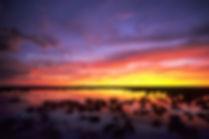 Rainy season sunset in Etosha, Namibia: landscape026