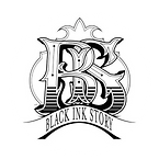 Logo Black Ink Story