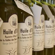 Impression d'étiquette huile d'olive