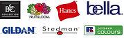 leon entreprise marque de textile pour personnalisation, B&C, fruit of the loom, gildan, result, stedman, SG