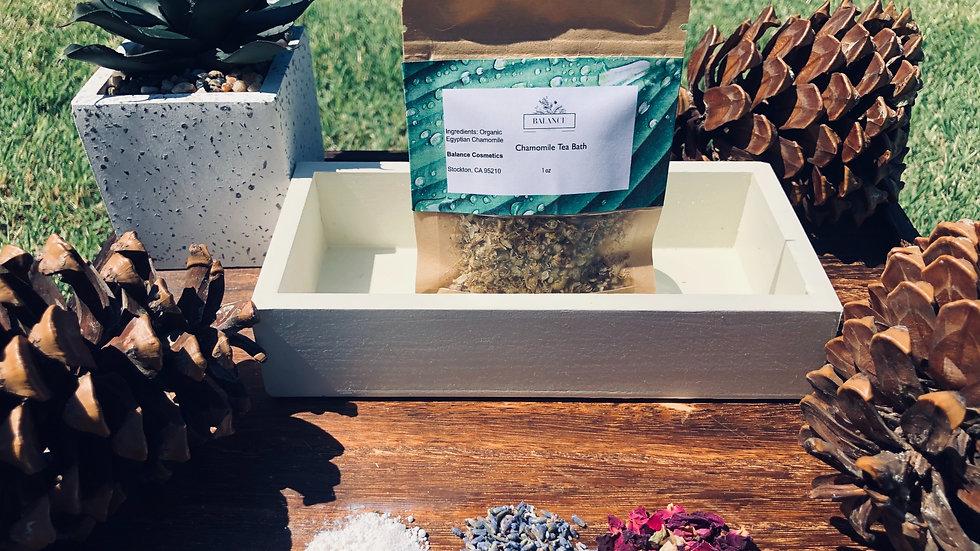 Organic Chamomile Tea Bath