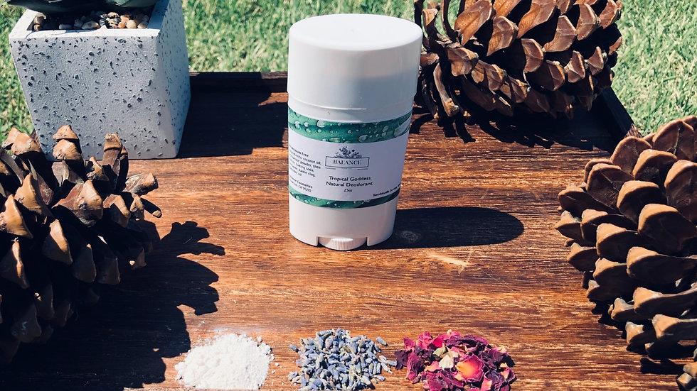 Tropical Goddess Natural Deodorant