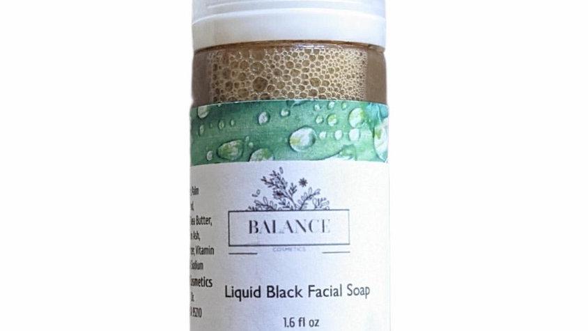Liquid Black Facial Soap