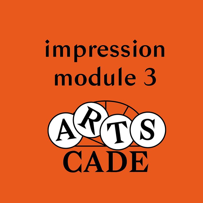 Impression : module 3
