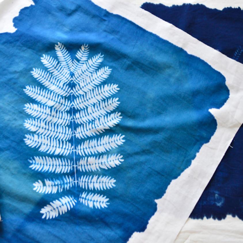 Impression textile : à la découverte du cyanotype