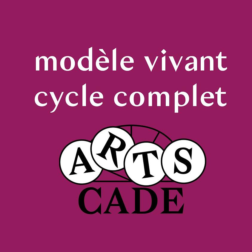 Modèle vivant : cycle complet