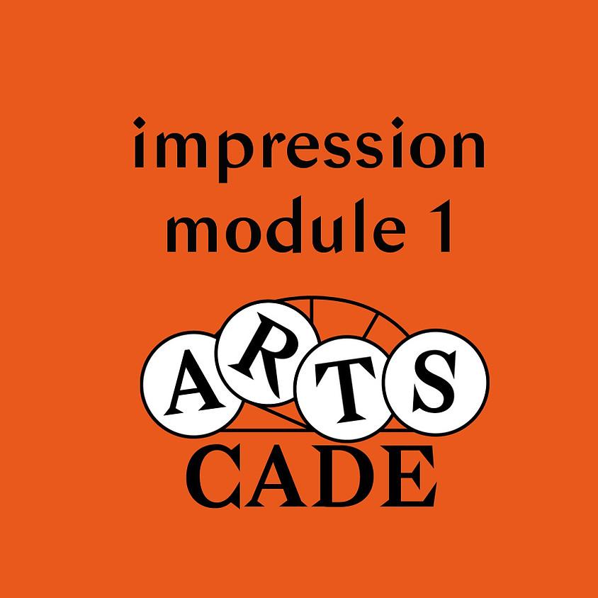 Impression : module 1