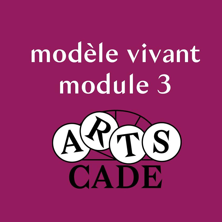 Modèle vivant : module 3