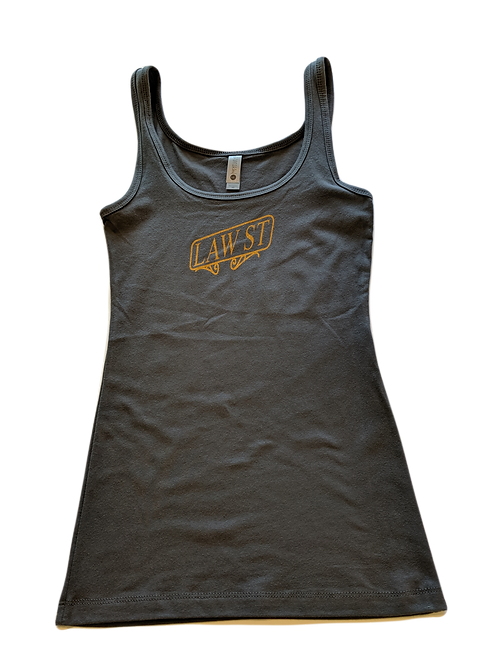 The Street Sign Collection: Women's Jersey Tank Gold Logo