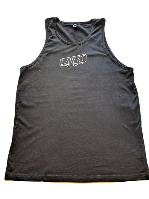 The Street Sign Collection: Men's Tank Top White Logo