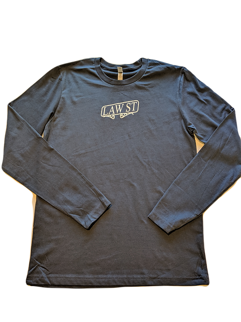 The Street Sign Collection: Men's Long Sleeve Tee White Logo