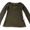 Thumbnail: The Palisades Park Collection: Women's Long Sleeve Scoopneck Tee Gold Logo