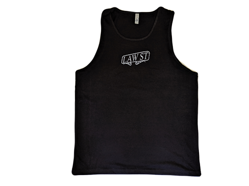 The Palisades Park Collection: Men's Tank Top White Logo