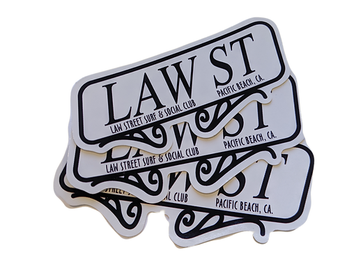 The Street Sign Collection: Stickers