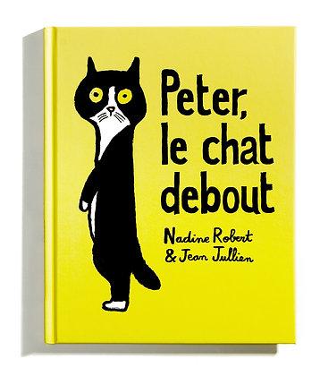 Peter, le chat debout