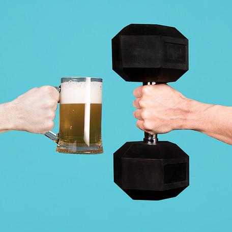 Ali šport in alkohol sodita skupaj? 5 pravil za šport in alkohol