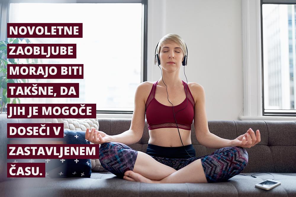 Novoletne zaobljube - meditatcija
