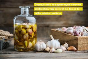 Kašelj in naravni antibiotik