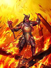 Fire Knight Art