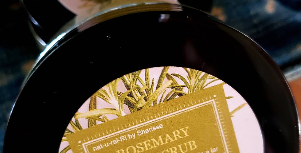Rosemary Exfoliating Salt Scrub