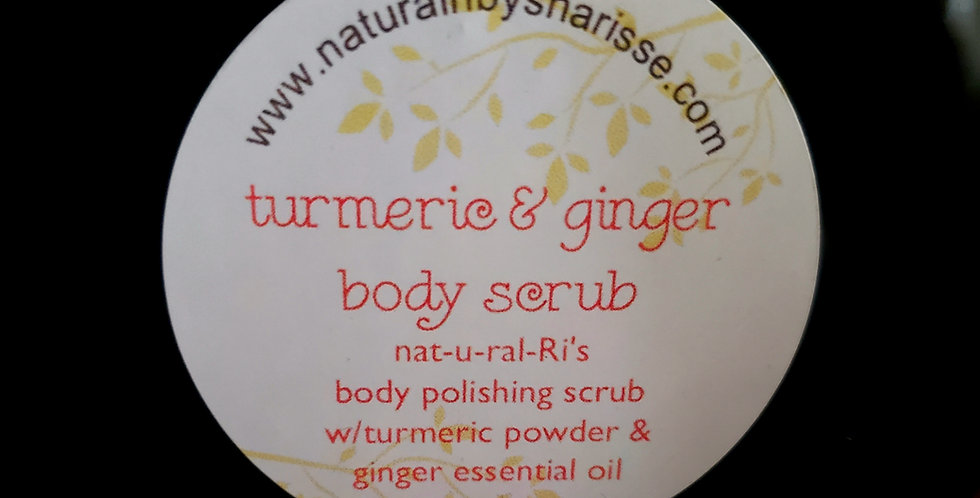Turmeric & Ginger body polishing scrub