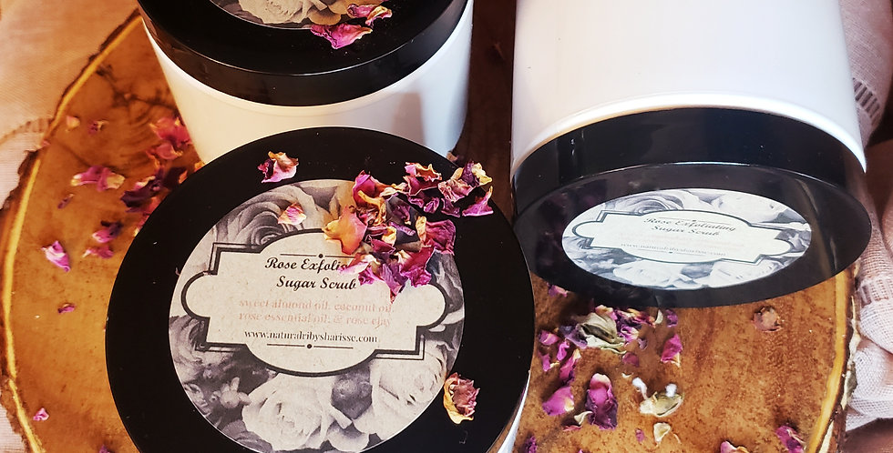 Rose Exfoliating Sugar Scrub