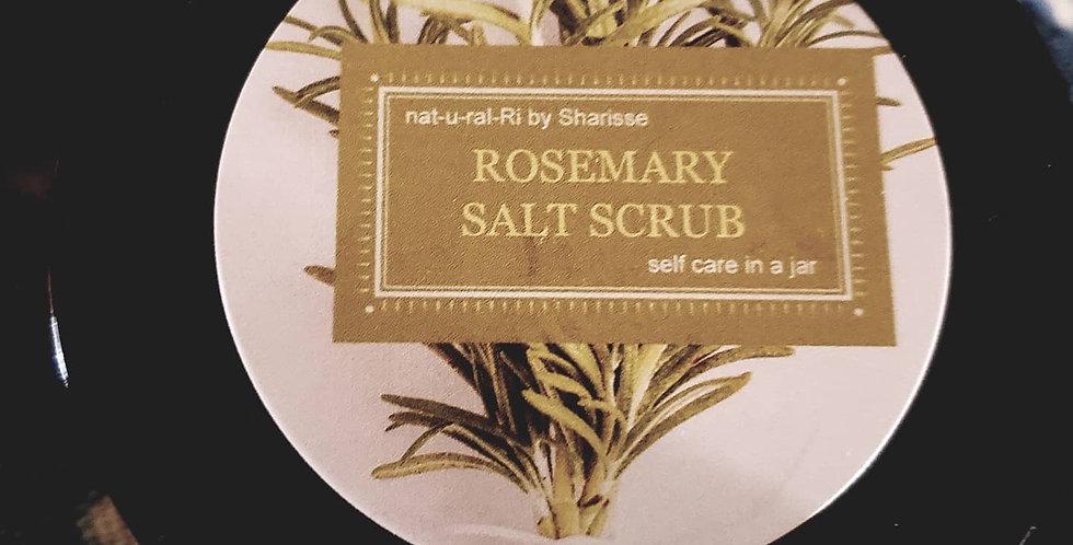 Rosemary & Lime Exfoliating Salt Scrub