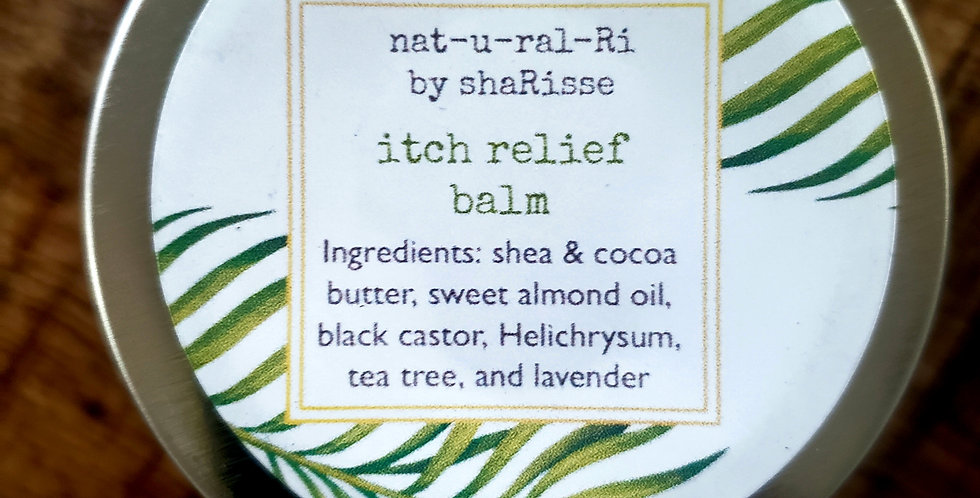 Itch relief balm