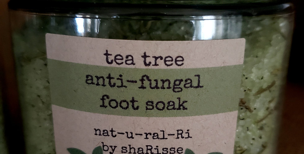Foot soak - Tea Tree Antifungal