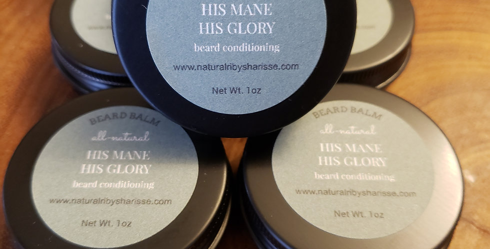 Beard conditioning balm