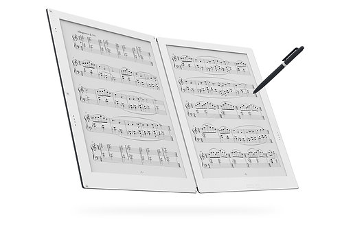 2画面電子ペーパー楽譜専用端末 GVIDO