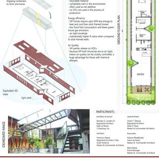 Naaman G. Landers III, Architect; Chuks Okwuje, Architect; Francisco Navas, Architect; Ashwini Bhadbhade, Intern Architect, Maca Navas, Associate