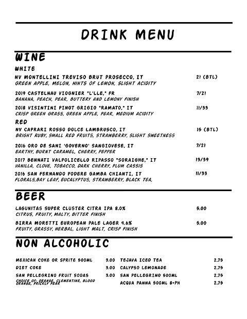 Sunday Gravy Drinks 5.24.21