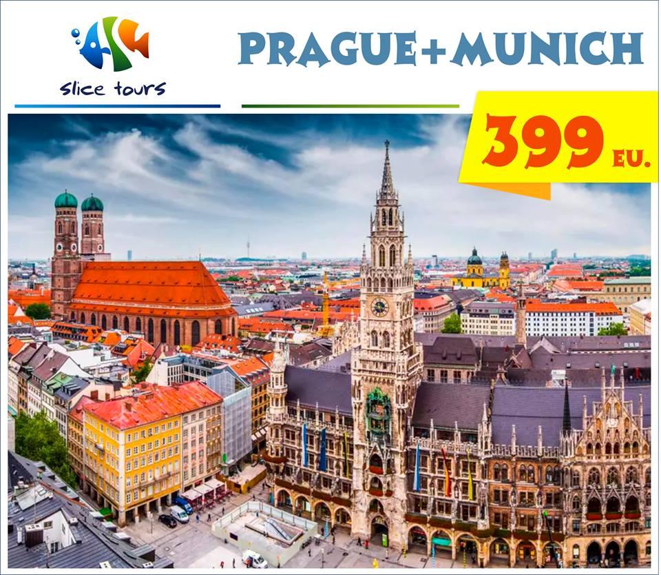 Prague + Munich