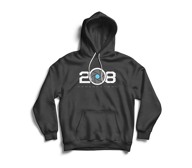 Grey Logo Hoody