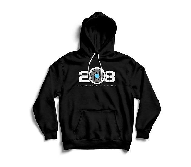 Black Logo Hoody