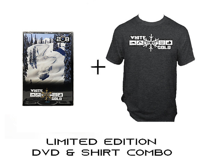 White Gold DVD & Shirt Combo - Limited Edition