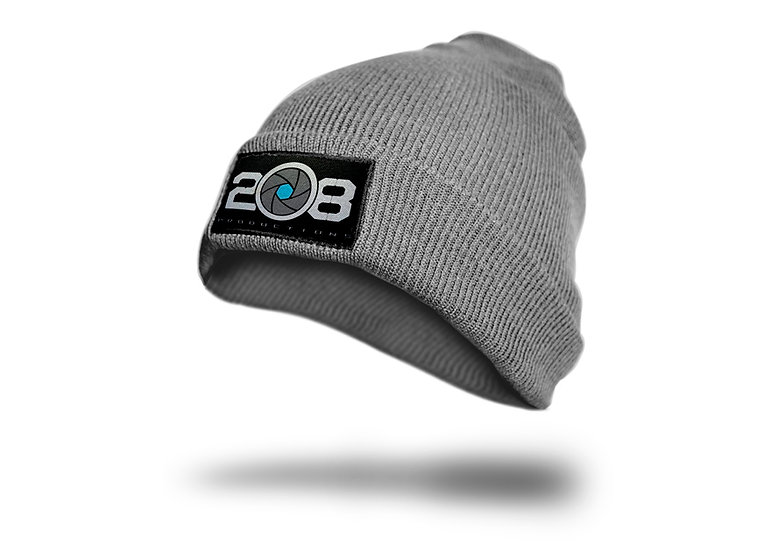 Grey Logo Beanie