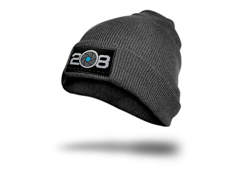 Black Logo Beanie