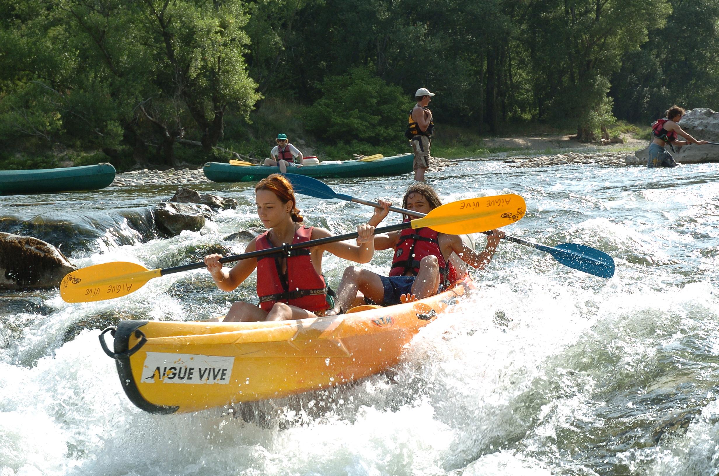 Canoë Kayak en rivière