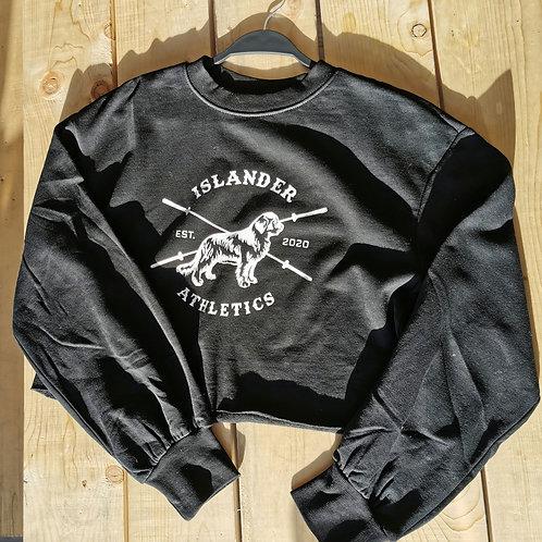 Islander Crop Sweater