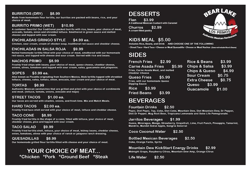 Los Primos menu Proof.png