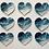 Thumbnail: Ocean Heart Ornaments