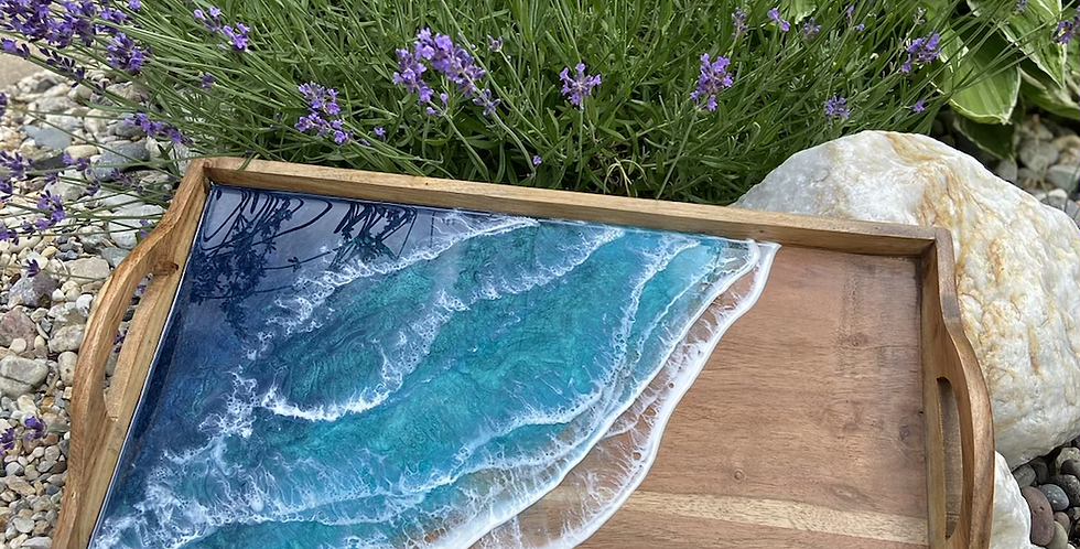 Small rectangle ocean tray